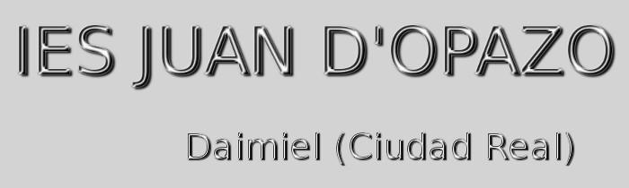 Logo Ies Juan D'Opazo